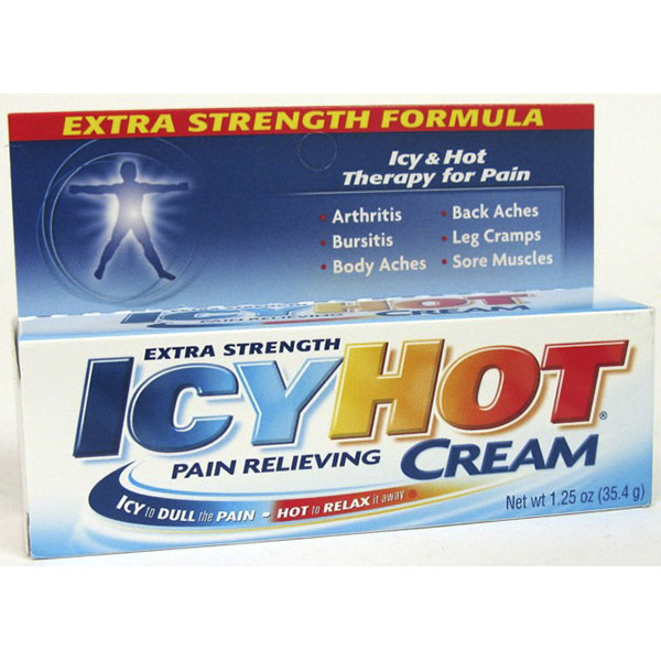 ICYHOT PAIN RELIEVING CREAM 1.25OZ *EXTRA STRENGTH*