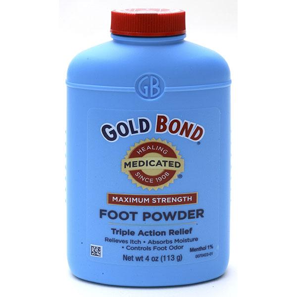 GOLD BOND MEDICATED POWDER 4OZ *MAX. STRENGTH*