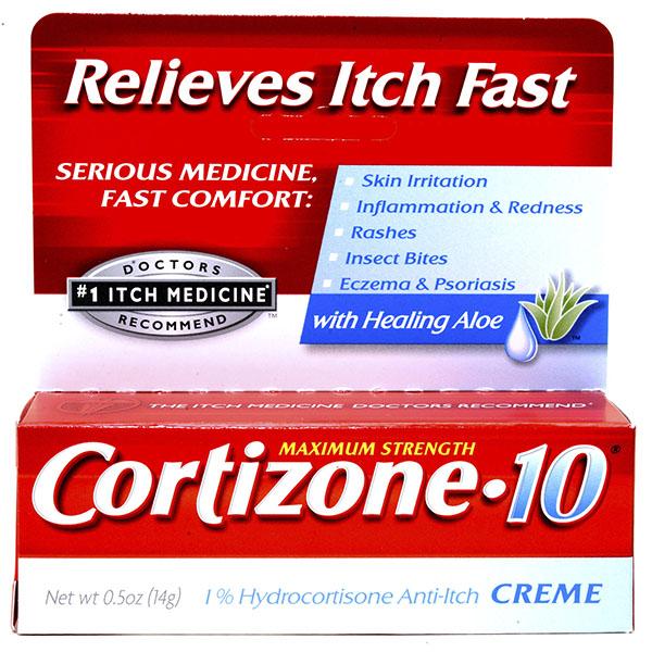 CORTIZONE-10 ANTI-ITCH CREAM .5OZ *MAX STRENGTH*