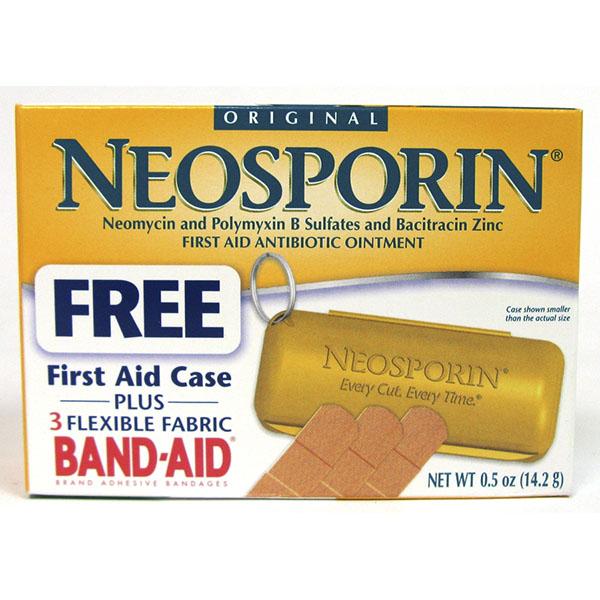 NEOSPORIN FIRST AID ANTIBIOTIC 0.5OZ *ORIG.*