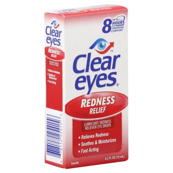 CLEAR EYES 0.5FL.OZ *REDNESS RELIEF*