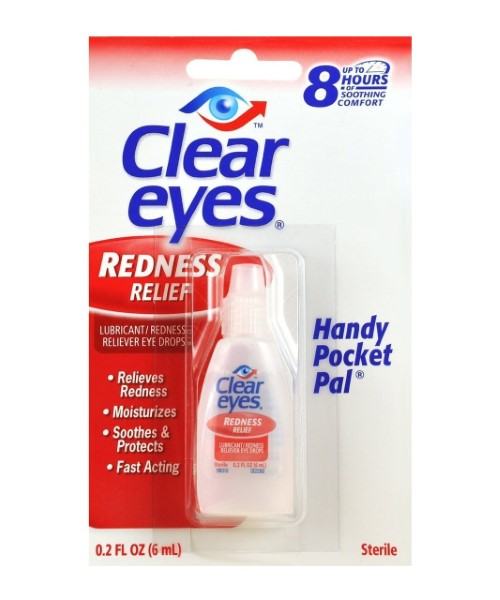 CLEAR EYES 0.2FL.OZ CARDED *REDNESS RELIEF*
