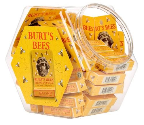 BURT'S BEES LIP BALM 0.15OZ CARDED JAR