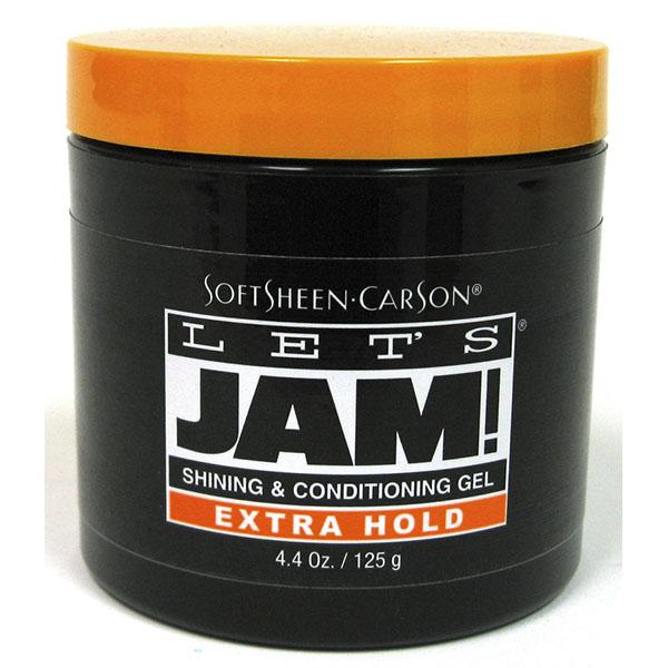 LET'S JAM SHINING & CONDITIONING GEL 4.4OZ *EXTRA HOLD ORANG