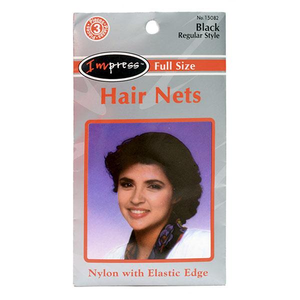 IMPRESS FULL SIZE HAIR NETS 3'S