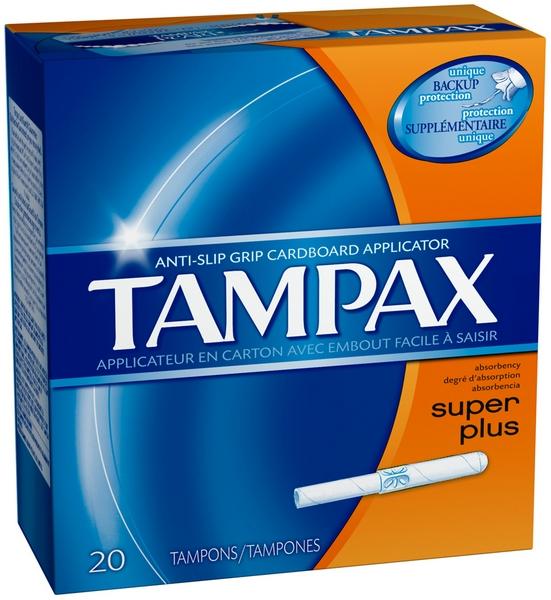 TAMPAX 20'S *SUPER PLUS*
