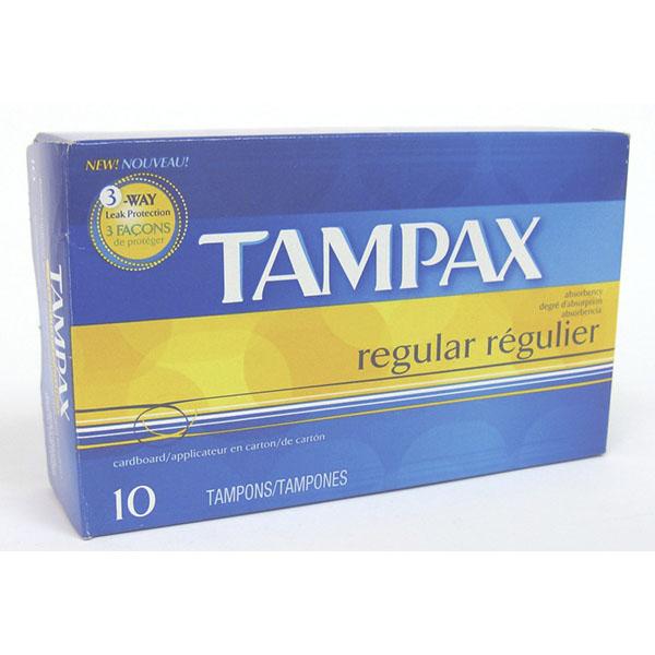 TAMPAX 10'S *REG.*
