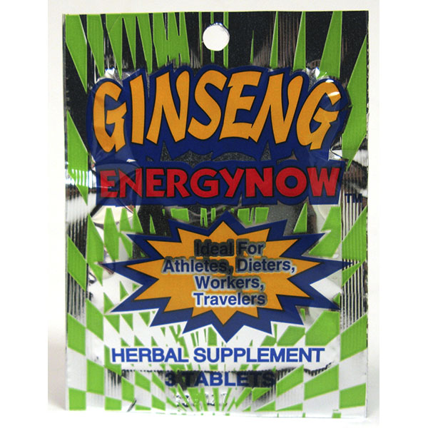 ENERGY NOW 3'S *GINSENG*