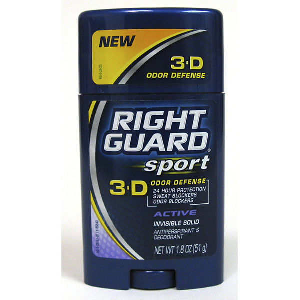 RIGHT GUARD SOLID 1.8OZ *SPORT ACTIVE*