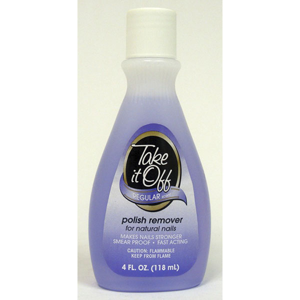 TAKE IT OFF NAIL POLISH REMOVER 4FL.OZ
