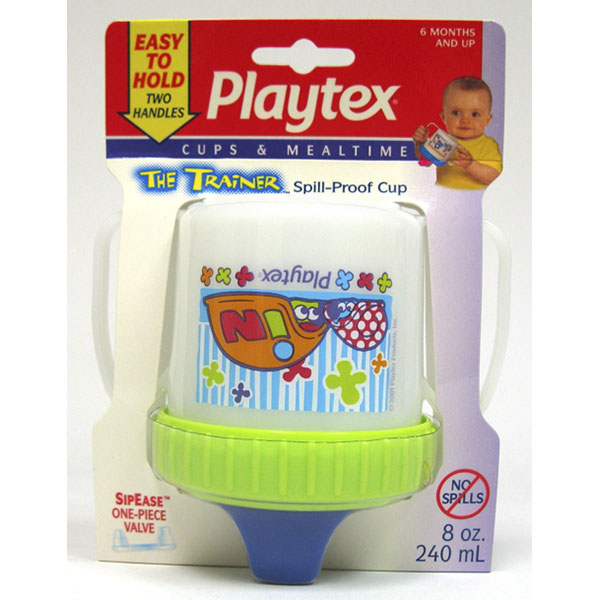 PLAYTEX SPILL-PROOF CUP 8OZ *THE TRAINER*