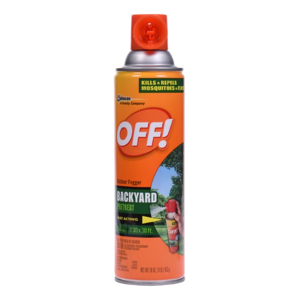 OFF! OUTDOOR FOGGER SPRAY 16OZ