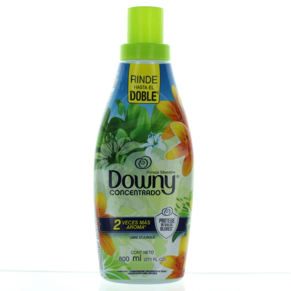DOWNY FABRIC SOFTENER LIQUID IMP. 800ML *PUREZAS SILVESTRES*