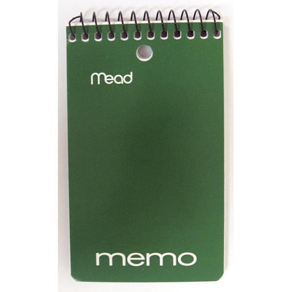 MEAD MEMO BOOK SPIRAL 3