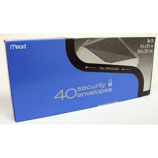 MEAD ENVELOPE BIG #10 40'S *SECURITY* #75214