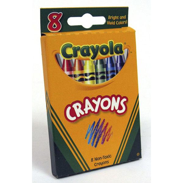CRAYOLA CRAYONS 8'S