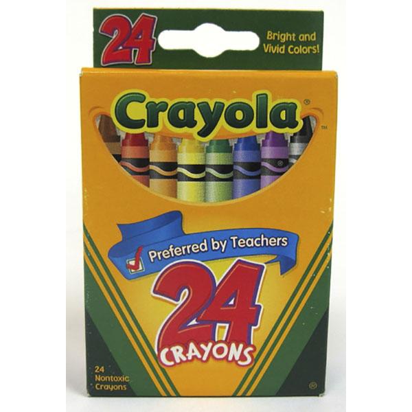 CRAYOLA CRAYONS 24'S