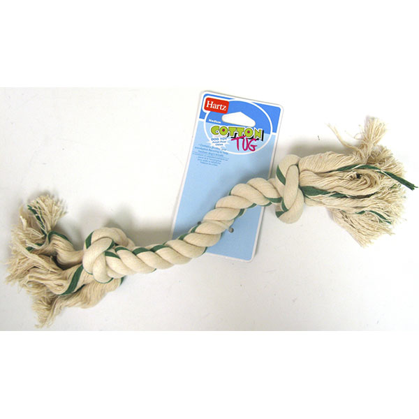 HARTZ TOY DOG COTTON TUG MEDIUM