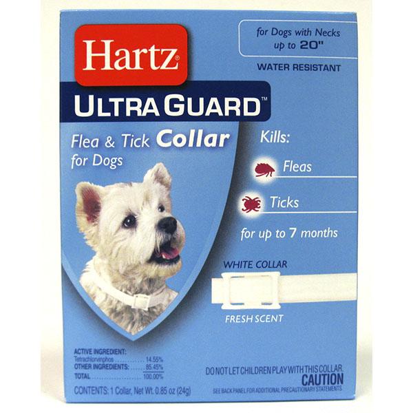 HARTZ FLEA & TICK COLLAR *ULTRA GUARD DOG*