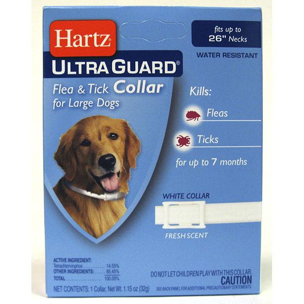 HARTZ FLEA & TICK COLLAR *ULTRA GUARD LARGE DOG*
