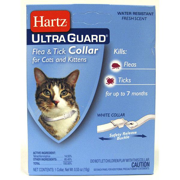 HARTZ FLEA & TICK COLLAR *ULTRA GUARD CAT*