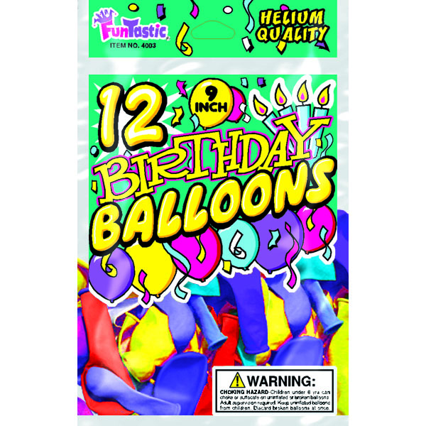BALLOONS BIRTHDAY 9
