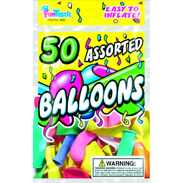 BALLOONS ASST. 50'S