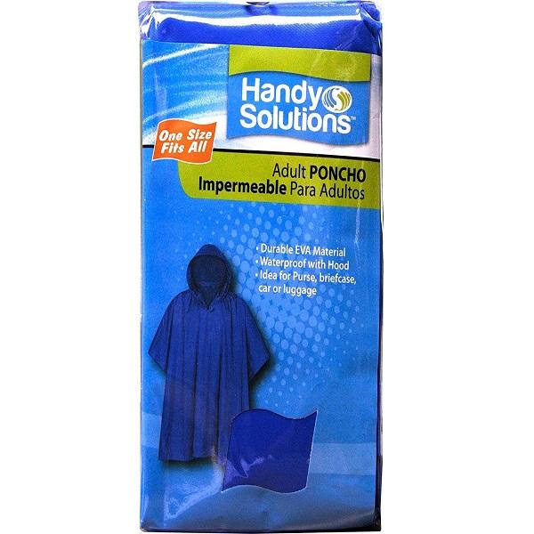 HANDY SOLUTIONS REUSABLE RAIN PONCHO