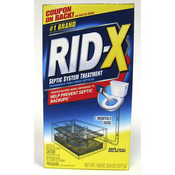RID-X SEPTIC SYSTEM TREATMENT POWDER 9.8OZ