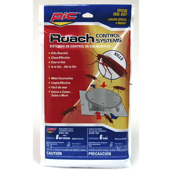 PIC ROACH CONTROL SYSTEM 6'S