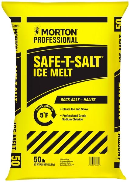 MORTON SAFE-T ROCK SALT BAGS 50LB