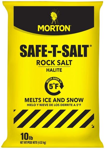 MORTON SAFE-T ROCK SALT BAGS 10LB