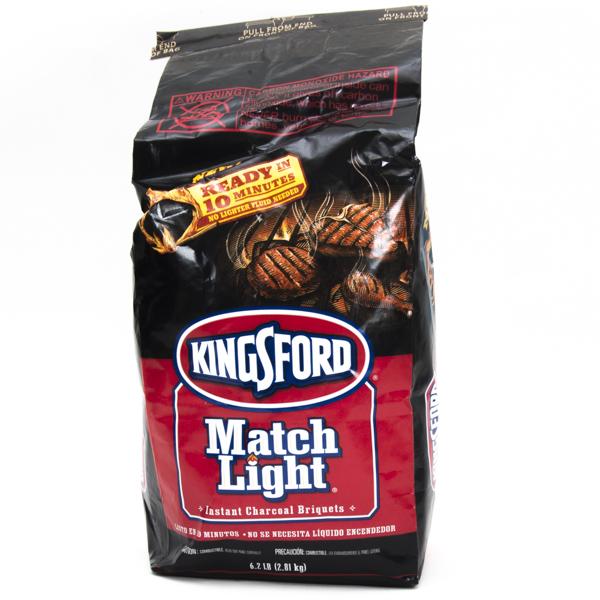 KINGSFORD CHARCOAL BRIQUETS 6.2LB *MATCHLIGHT*