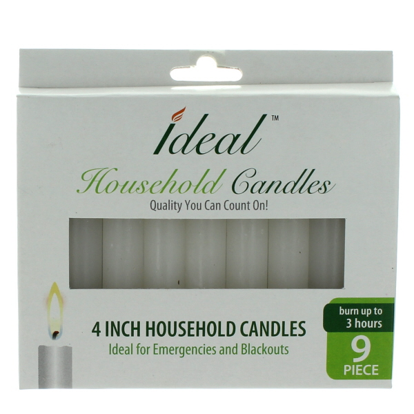 HOUSEHOLD CANDLES 4