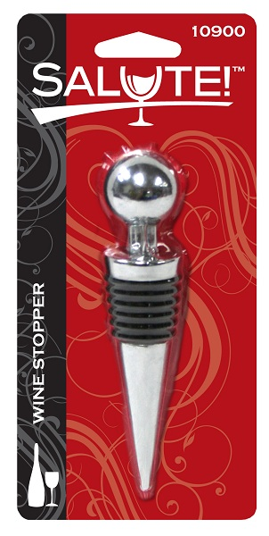 SALUTE WINE BOTTLE STOPPER