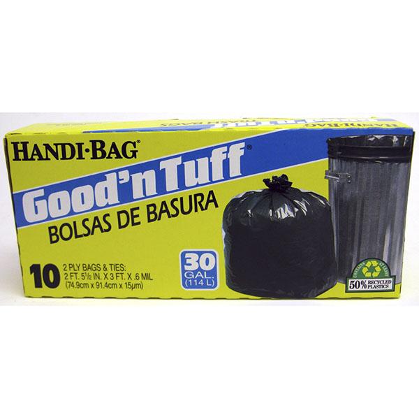 GOOD'N TUFF TRASH BAGS 26 GAL 11'S MED. PP$1.99