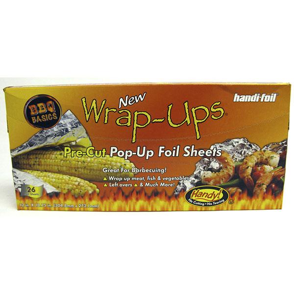 HANDI-FOIL ALUMINUM FOIL BBQ POP-UP SHEETS 26'S 12