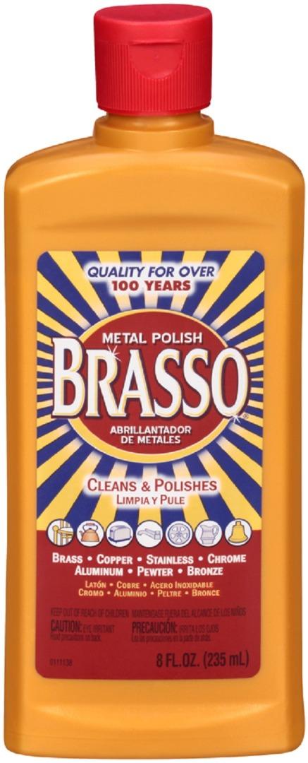BRASSO METAL POLISH 8FL.OZ