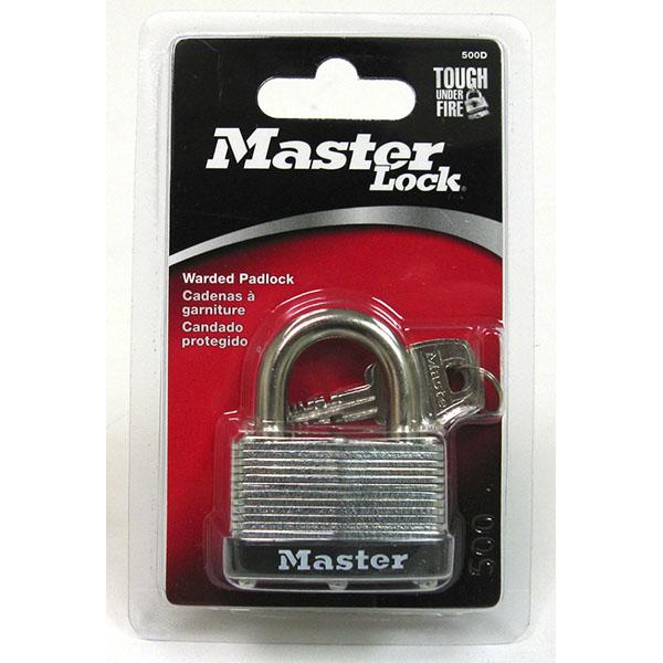 MASTER LOCK WARDED PADLOCK 1-3/4