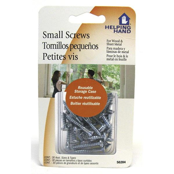 HELPING HAND SCREWS ASST.*SMALL* 30'S #50204