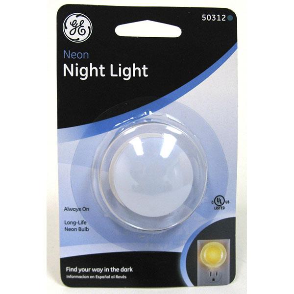 G.E NIGHT LIGHT NEON ROUND #50312