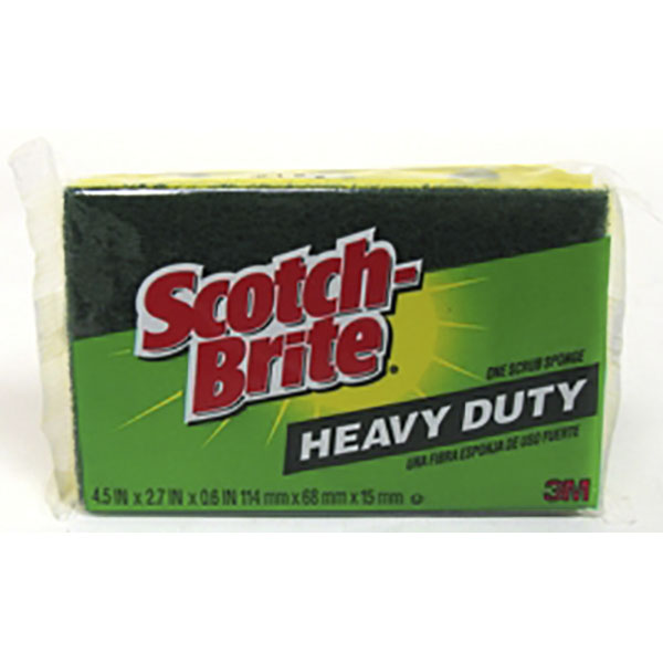 SCOTCH-BRITE SCRUB SPONGE 1'S *HEAVY DUTY* #425