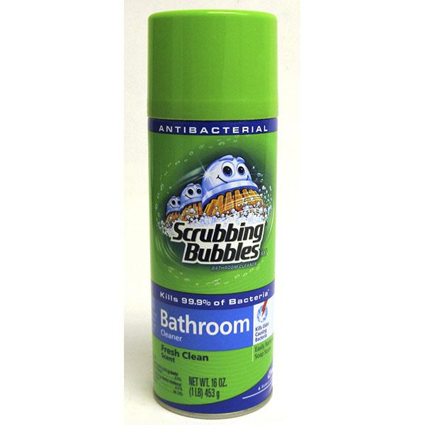SCRUBBING BUBBLES BATHROOM CLEANER 20OZ *FRESH CLEAN*