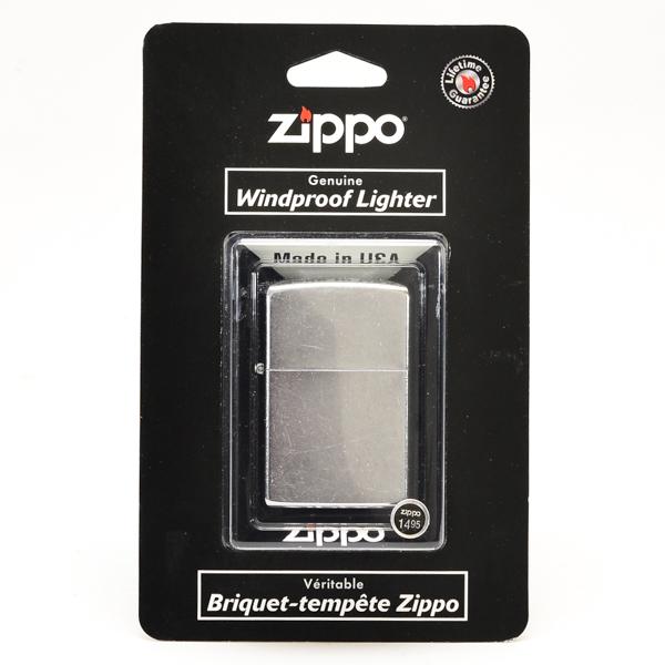 ZIPPO LIGHTER STREET CHROME #207