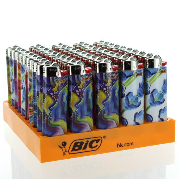 BIC LIGHTER REG. SE *BLOWN GLASS* #LCWT1BG