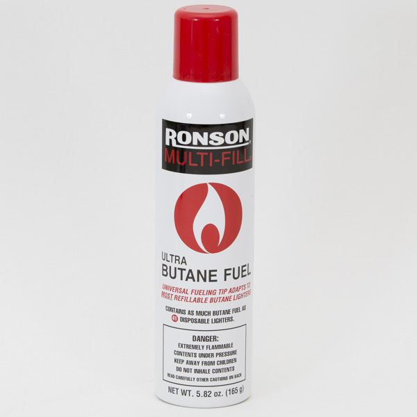 RONSON BUTANE LIGHTER FUEL 165GM/290ML