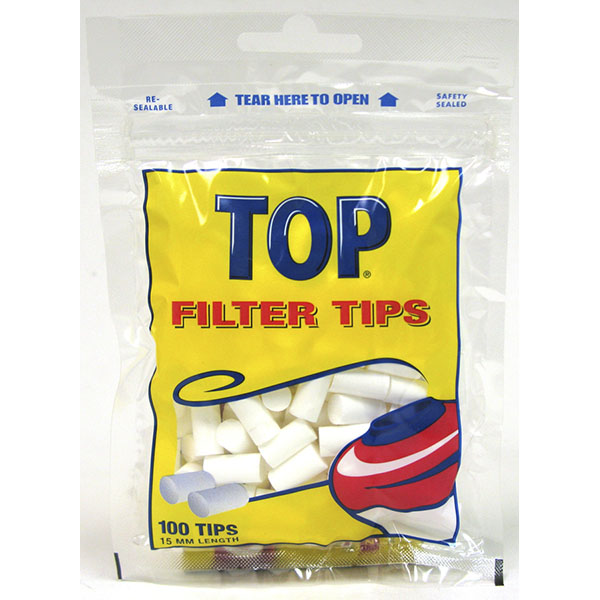 TOP FILTER TIPS 15MM 100'S