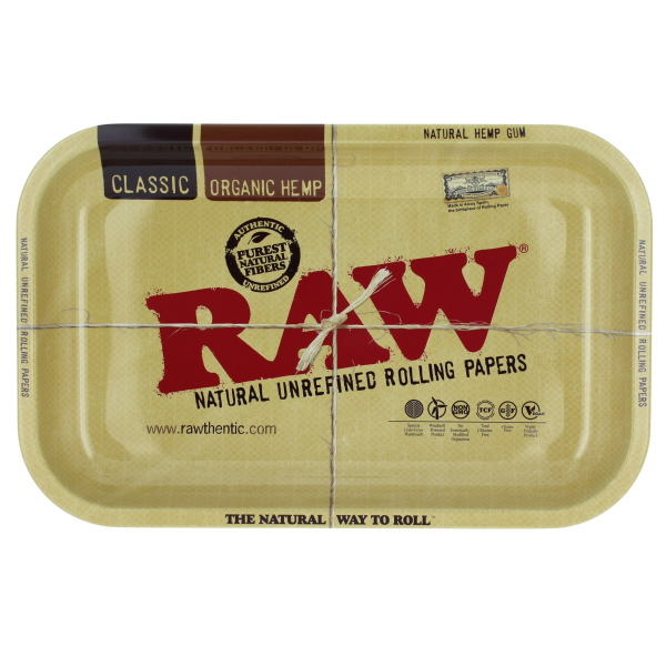 RAW ROLLING METAL TRAY *SMALL*