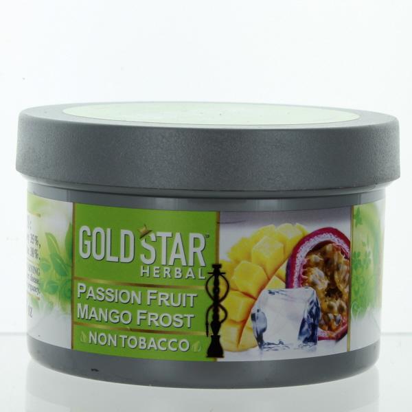 GOLD STAR HOOKAH HERBAL 200GM/7.05OZ *PASSION FRUIT MANGO FR