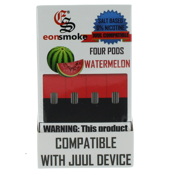 EONSMOKE PODS 6% 4'S 20ML/BX *WATERMELON*